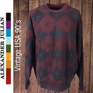 Vintage mens Cotton Sweater Like New